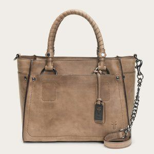 Frye Leather Demi Satchel Crossbody Bag